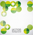 green background design vector image vector image