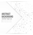 network background abstract polygon vector image