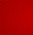 red background with abstract patterns vector image vector image