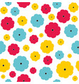seamless floral pattern seamless vector image vector image