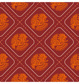 Seamless pattern with American Indians art vector image vector image
