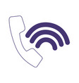 telephone call connection service customer vector image