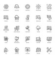 Web line icons pack