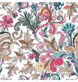 decorative hand drawn doodle nature ornamental vector image