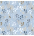 A seamless pattern with branches vector image