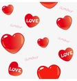 amor background vector image