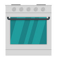 burner icon flat style vector image