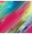 colorful abstract geometric hi-tech background vector image