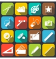 Designer Tools Icons vector image vector image