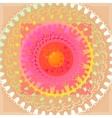floral mandalas vector image