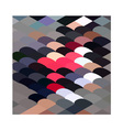 Pebble Abstract Low Polygon Background vector image vector image