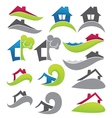 real estate and property vector image vector image