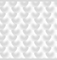 white background with balls shapes seamless vector image
