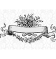 Victorian scroll vector image