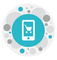 of shopping symbol on online vector image