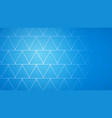 abstract background of intersecting triangles vector image vector image