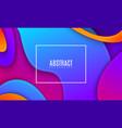 Colorful gradient cover design futuristic