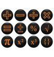 mathamatics icons vector image