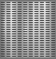 metal textured technology perforated background vector image vector image