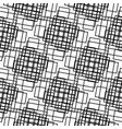 seamless black and white pattern from rectangle vector image