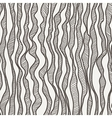 seamless pattern of curves manually drawn vector image