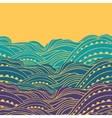 Three Waves Horizontal vector image vector image
