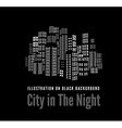 City Night vector image