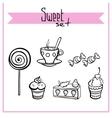 SweetSet vector image