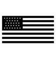 31 star united states flag 1851 vintage vector image vector image