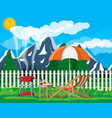 bbq party concept vector image vector image
