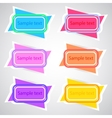 Colored Banners 3 vector image vector image