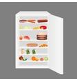 full fridge vector image