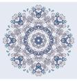 Lace mandala vector image