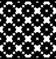 ornamental seamless pattern crosses squares vector image vector image