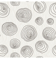 seamless pattern of the curves circles vector image vector image