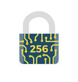 sha 256 related icon vector image vector image
