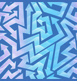 wave color geometric arrow pattern vector image