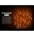 Meteor shower background vector image vector image