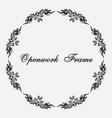 openwork napkin vintage ornament vector image vector image