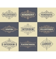pack labels and banners vector image vector image