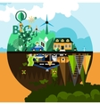 Pollution Concept Background vector image