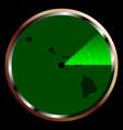 radar on hawaii vector image vector image