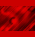 red abstract background with glossy stripes vector image