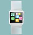 Smart watch concept vector image vector image