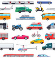 transport public transportable vehicle vector image vector image