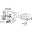 article tips to improve traffic text word cloud vector image vector image