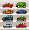 Car icon set vector | Price: 3 Credits (USD $3)