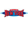 New York The Empire State vector image vector image