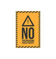 warning do not enter no trespassing private image vector image vector image