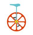 unicycle icon vintage vector image